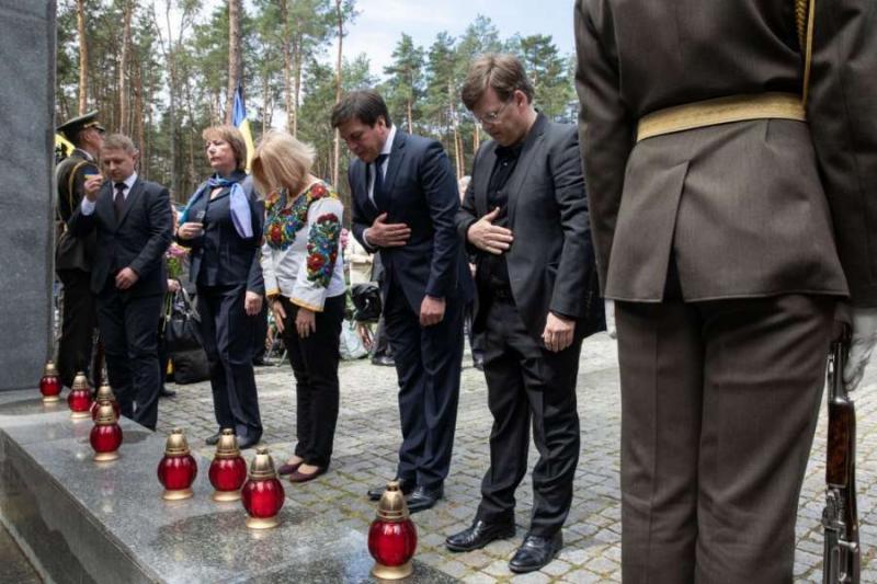 Перший заступник Голови Верховної Ради України Ірина Геращенко взяла участь у церемонії вшанування пам'яті жертв політичних репресій