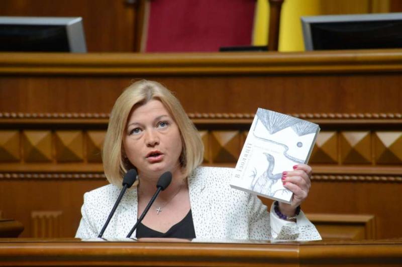 Ірина Геращенко закликала створити єдиний реєстр моніторингу фактів поранень, вбивств та захоплення в полон журналістів на Донбасі