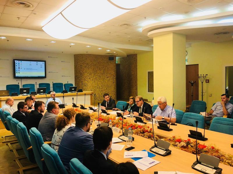 У Міністерстві інфраструктури разом з представниками ЄБРР відбулось обговорення проекту Ukraine Country Strategy 2018-2023