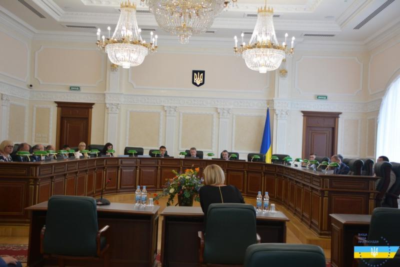 Суддю ВССУ звільнили за порушення принципу справедливості призначення покарання