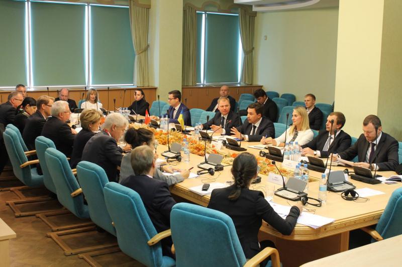 2 жовтня в Міністерстві інфраструктури пройшла розширена зустріч з Державним секретарем з економічних питань Швейцарської Конфедерації та представниками швейцарського бізнесу