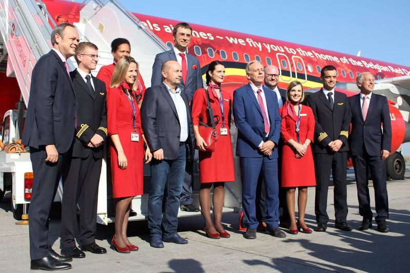 Авіакомпанія Brussels Airlines розпочала польоти до України, - Володимир Омелян