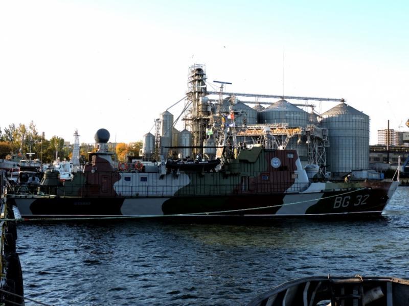 Корабель «Донбас» повернувся у стрій в акваторії Азовського моря після ремонту