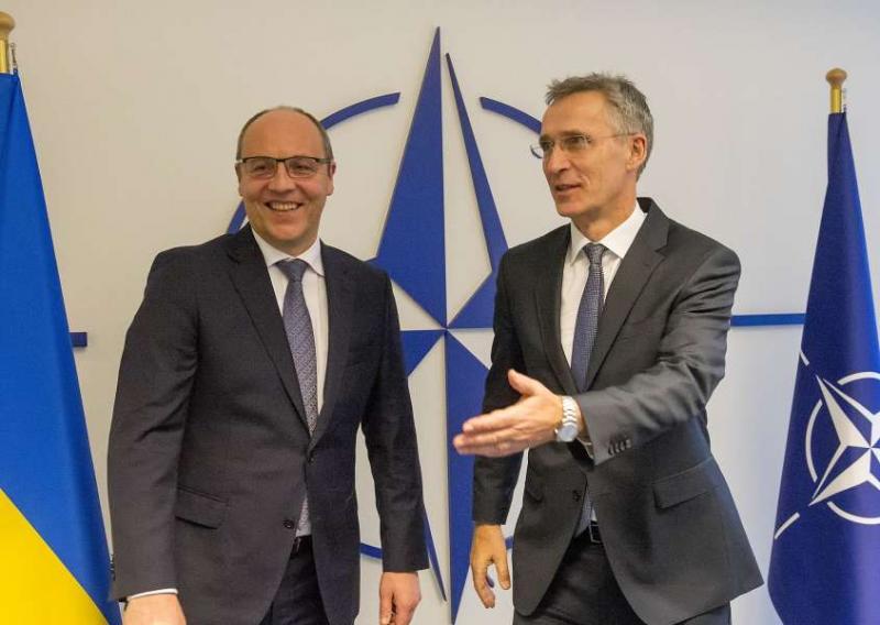 Андрій Парубій закликав країни-члени НАТО збільшити присутність своїх кораблів і повітряного контролю в акваторії Чорного моря