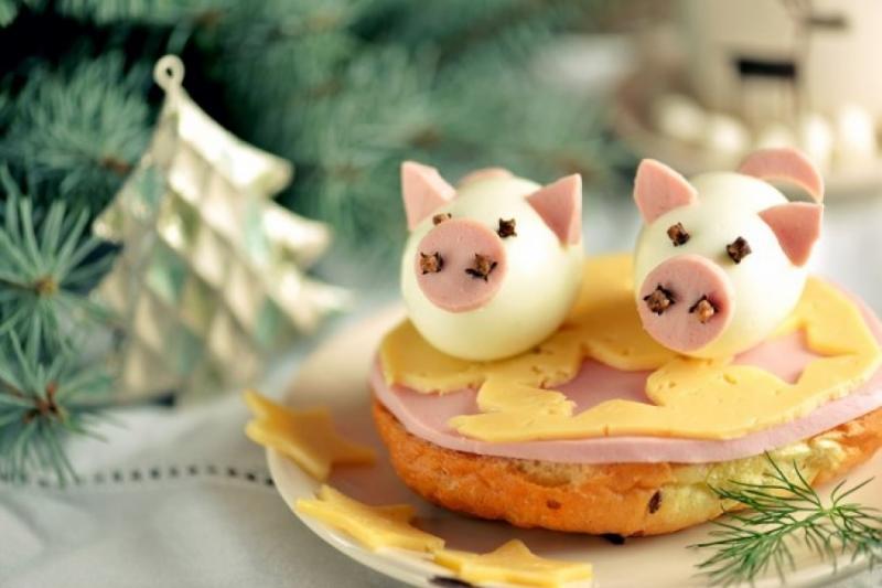 Що приготувати на Новий рік, щоб «жовта» свиня не образилась