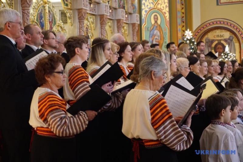 Український хор у Нью-Йорку заспівав різдвяних колядок