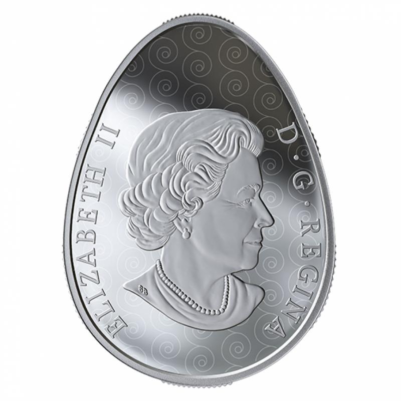 Канада випустить ще одну монету у формі української писанки. Це вже четверта