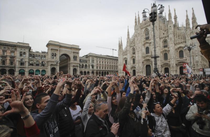 200 тисяч осіб вийшли на антирасистський марш в Мілані