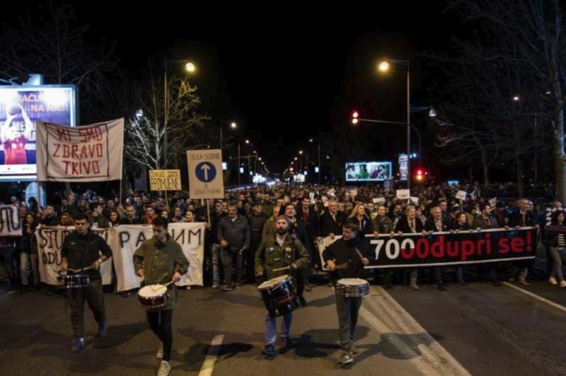 Чорногорія: тисячі вимагали відставки президента Джукановича