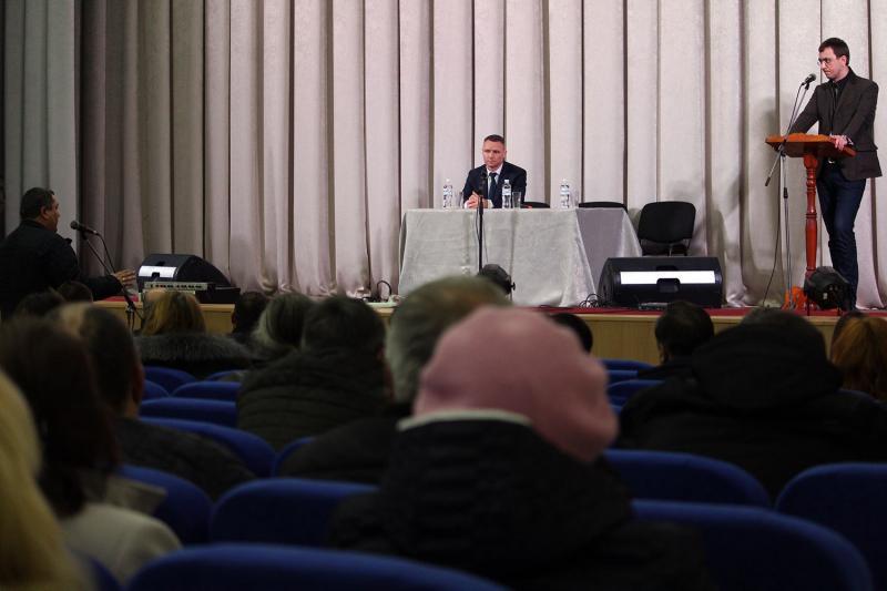 Володимир Омелян із робочою поїздкою на Полтавщині