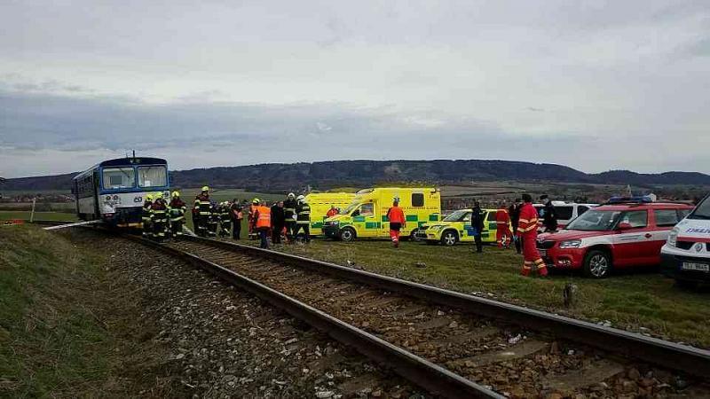 У Чехії зіткнулись два потяги, є постраждалі