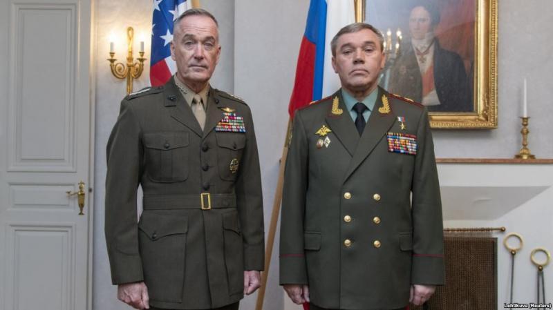 Топ-генерали США й Росії обговорять усунення конфлікту коаліції й операції РФ в Сирії