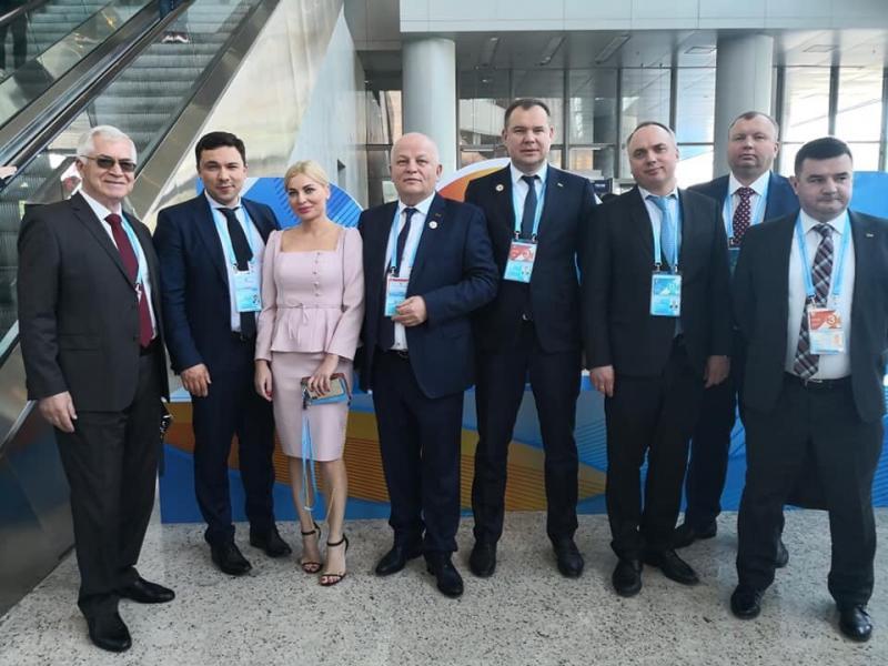 Віктор Довгань взяв участь в другому форумі «Один пояс – один шлях»