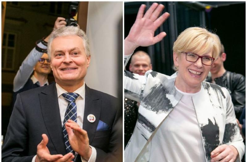 Вибори президента Литви: названі учасники другого туру
