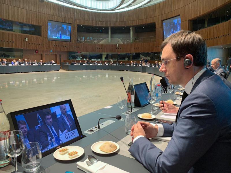 Володимир Омелян взяв участь у засіданні Міністрів ЄС - «Східне партнерство» у сфері транспорту