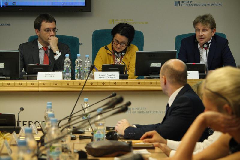 В Міністерстві інфраструктури підбили підсумки проекту «Твінінг»