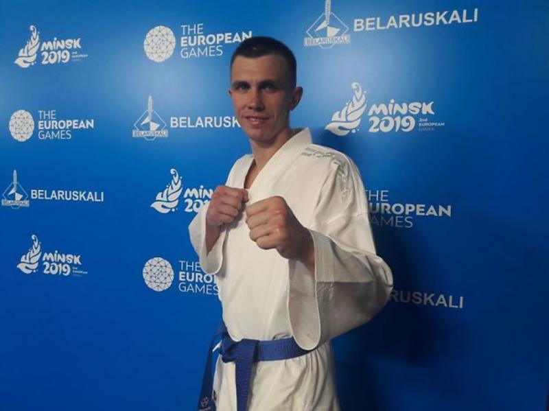 Каратист Валерій Чоботар завоював у Мінську «бронзу» Євроігор-2019