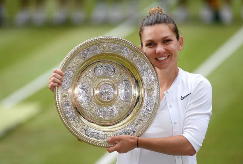 Румунка Симона Халеп вперше виграла тенісний турнір Wimbledon-2019