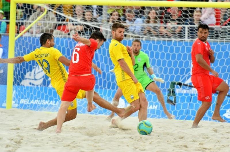 Збірна України з пляжного футболу програла Португалії матч відбору Євроліги