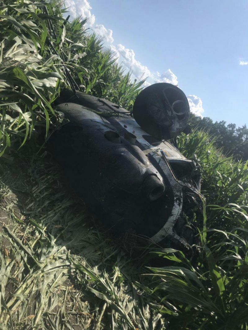 На Сумщині упав вертоліт. Є загиблий