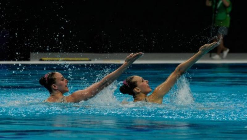 Українки Марта Федіна і Анастасія Савчук виграли «бронзу» ЧС-2019 з артистичного плавання