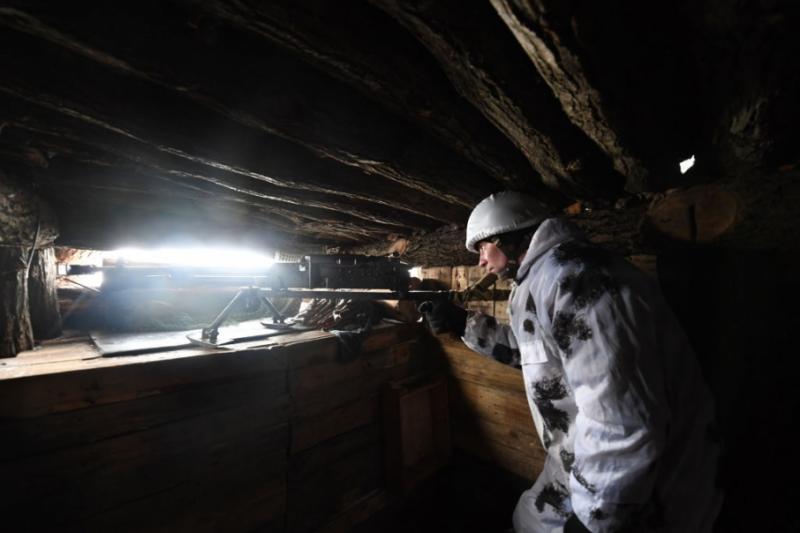 Бойовики чотири рази обстріляли позиції українських військових