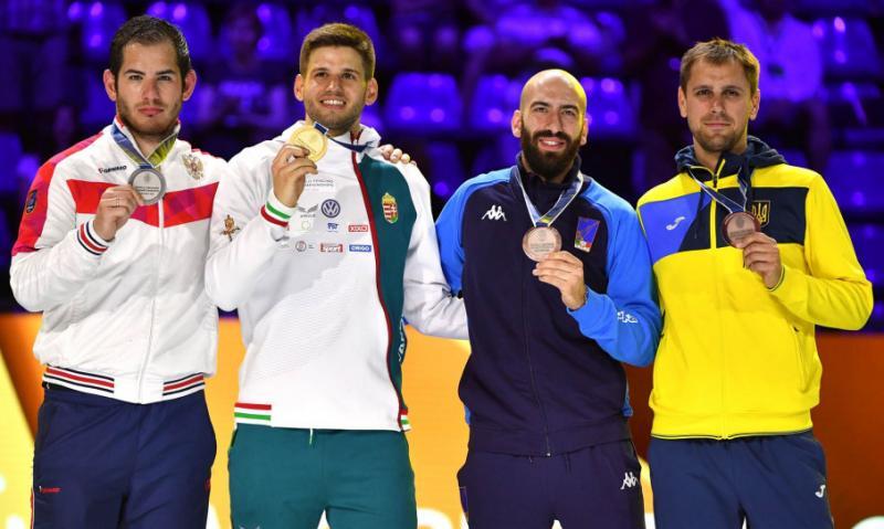 Шпажист Ігор Рейзлін здобув для України другу «бронзу» ЧС-2019 з фехтування