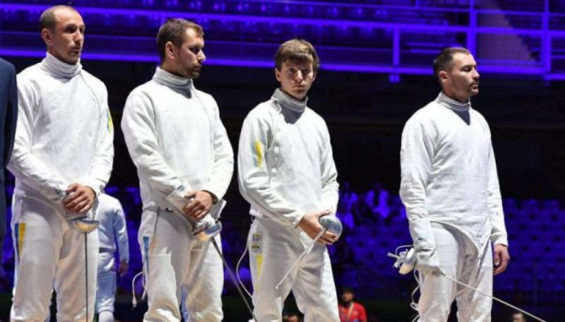 Українські шпажисти на ЧС-2019 з фехтування завоювали «срібло»