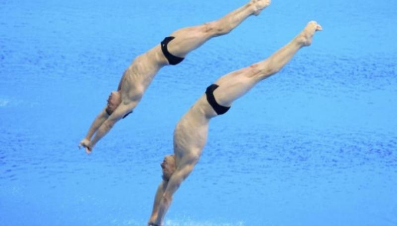 Олексій Середа і Олег Сербін вийшли у фінал ЧC-2019 у синхронних стрибках у воду з вишки