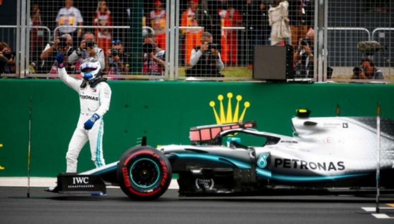 Фінський пілот Формули-1 Валттері Боттас виграв кваліфікацію Гран-прі Великобританії