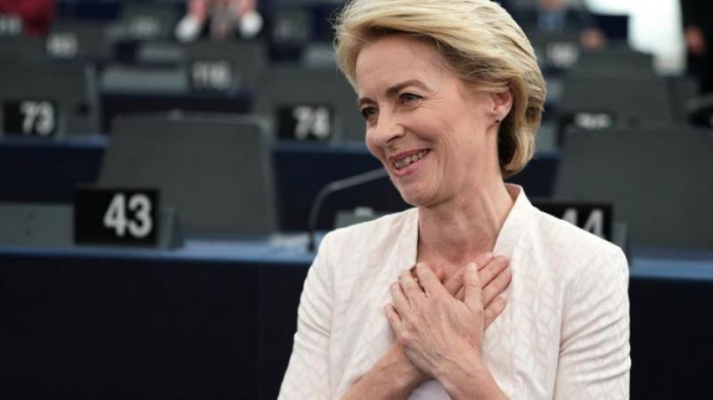 Новий Президент Єврокомісії заявила про намір «рушити Європу вперед»