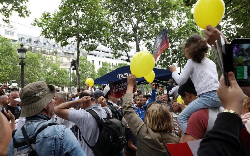 Макрона освистали під час параду до Дня взяття Бастилії