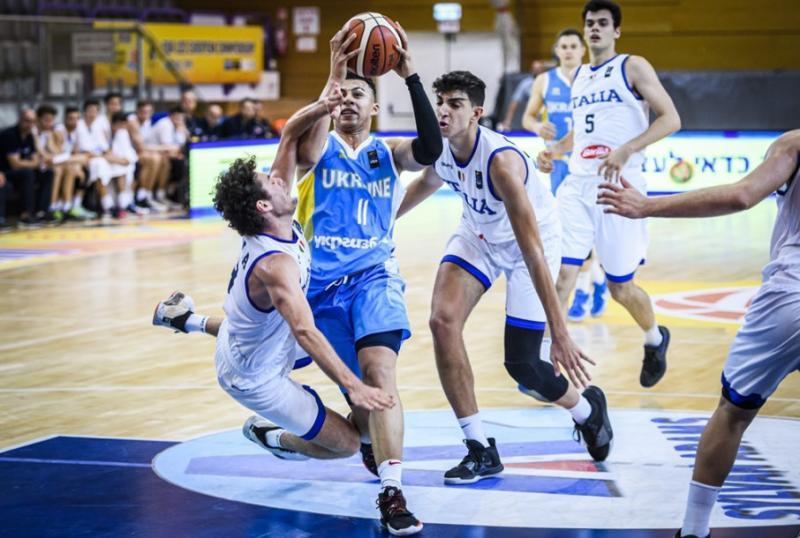Юніорська збірна України програла Італії на старті Євробаскету-2019