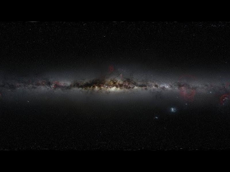 У центрі Галактики раптово спалахнула чорна діра. Відео