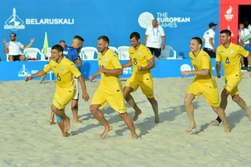 Збірна України з пляжного футболу отримала суперників на Всесвітніх пляжних іграх-2019 у Катарі