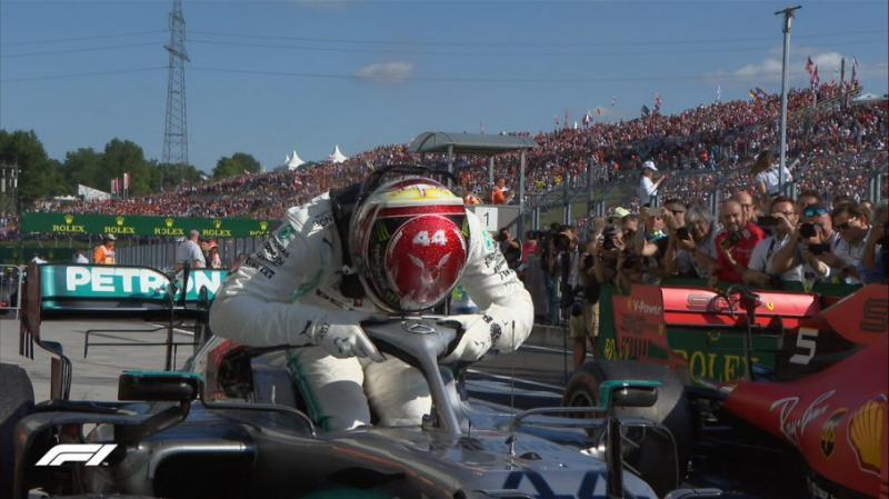 Британець Льюїс Гемілтон виграв Гран-прі Угорщини у автоперегонах Формули-1