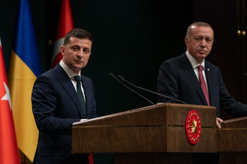 Зеленський: Україна й Туреччина змінить ситуацію в Чорноморському регіоні у свій бік