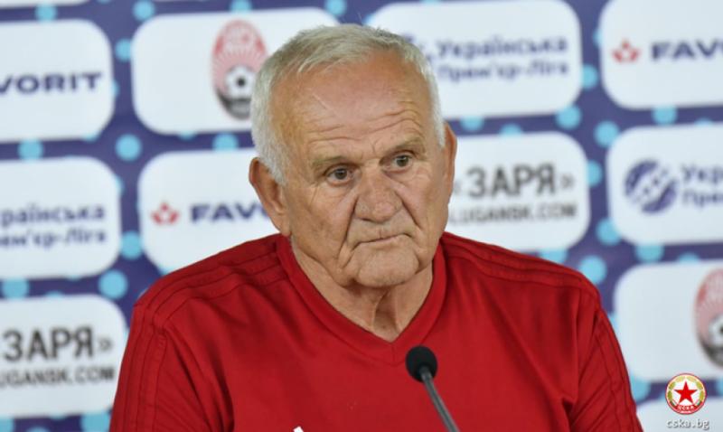 Тренер ЦСКА Любко Петровіч: І ми, і «Зоря» будемо грати на перемогу