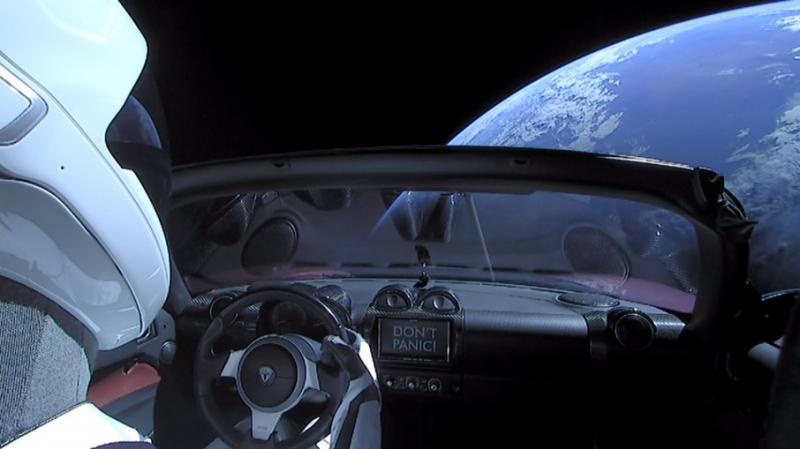 Tesla здійснила перший політ навколо Сонця. Фото