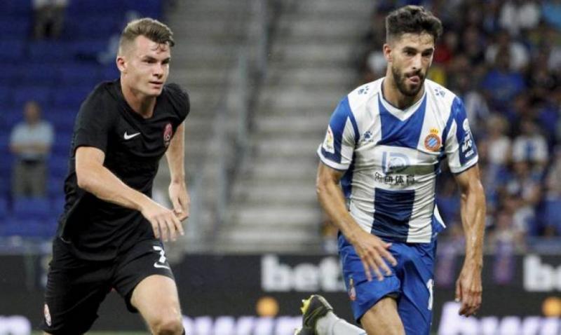 «Зоря» у першому матчі плей-оф Ліги Європи програла в гостях «Еспаньйолу»