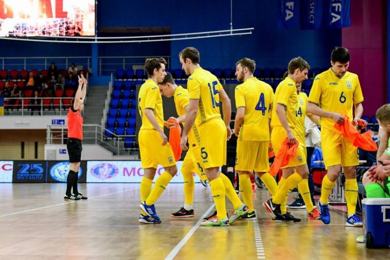 Збірна України з футзалу зіграє у турнірі з командами Румунії і Грузії