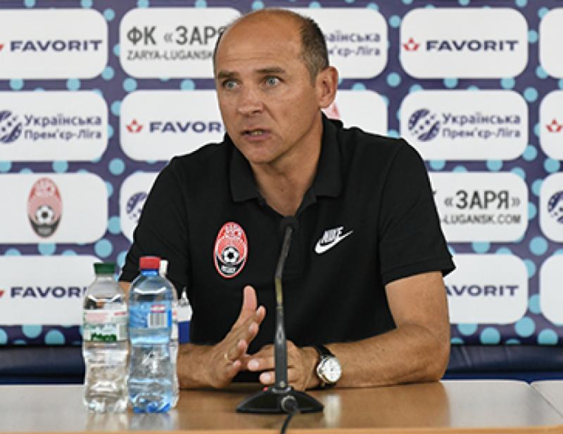 Тренер «Зорі» Віктор Скрипник: Ми будемо боротися. Шанси є