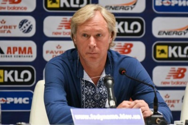 Тренер «Динамо» Олексій Михайличенко: У мене є розчарування саме від результату