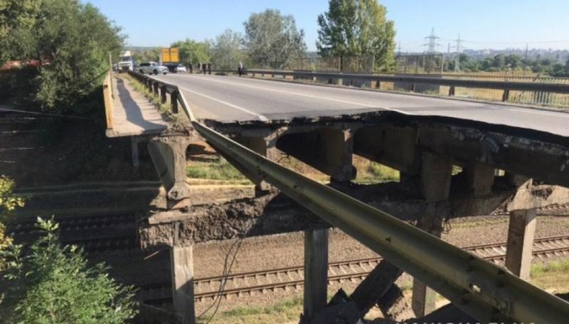 Обвал мосту в Харкові: Поліція відкрила кримінальне провадження