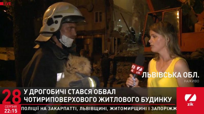 Обвал будинку у Дрогобичі: місцеві розповіли про тріщини і жахливий стан будівлі