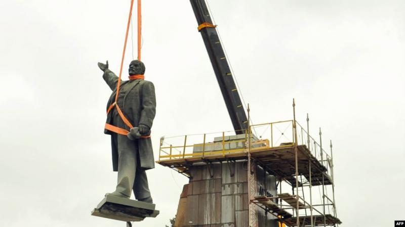 На Дніпропетровщині бронзовий пам'ятник Леніну продали як «металобрухт»