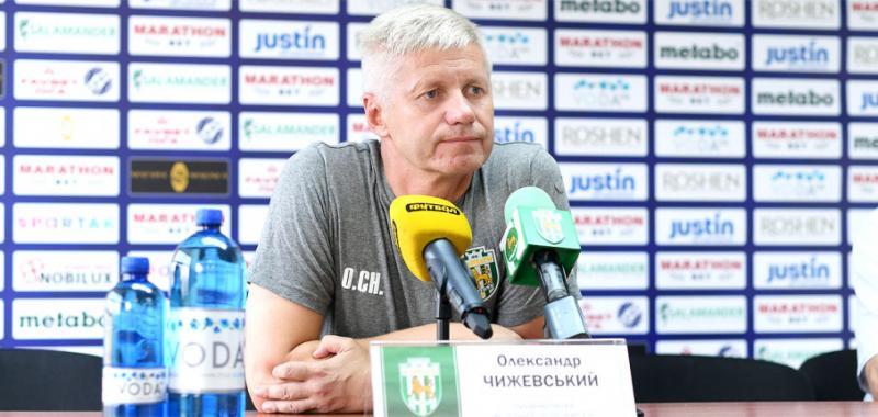 Тренер «Карпат» Олександр Чижевський: Враження від гри з «Десною» позитивні