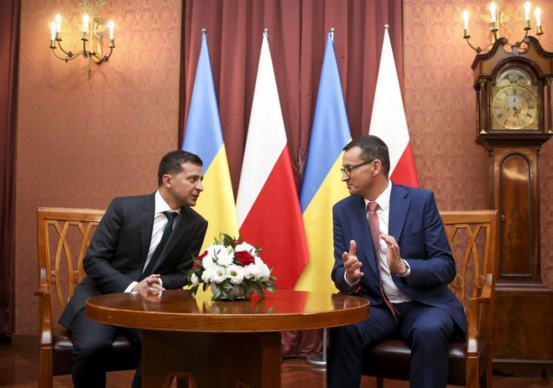 Президент України запросив Польщу долучитися до відновлення інфраструктури Донбасу