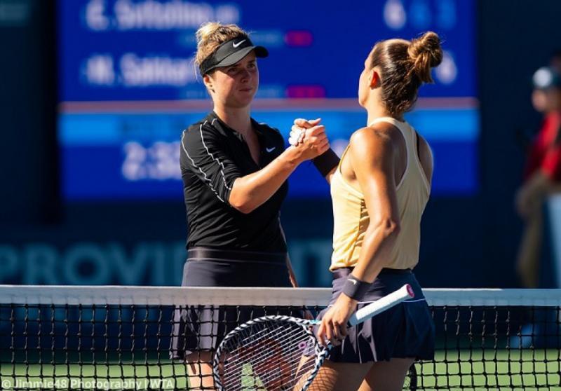 Еліна Світоліна програла Марії Саккарі у 1/4 фіналі тенісного турніру в Сан-Хосе