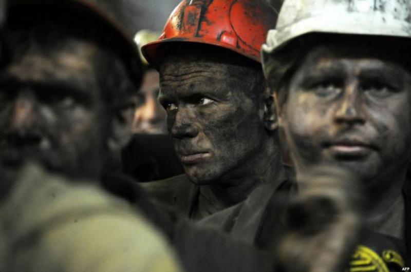 На Донеччині страйкують гірники двох шахт